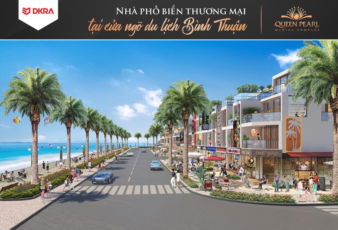 Queen Pearl Marina Complex đất nền thi công uy tín góc view rộng