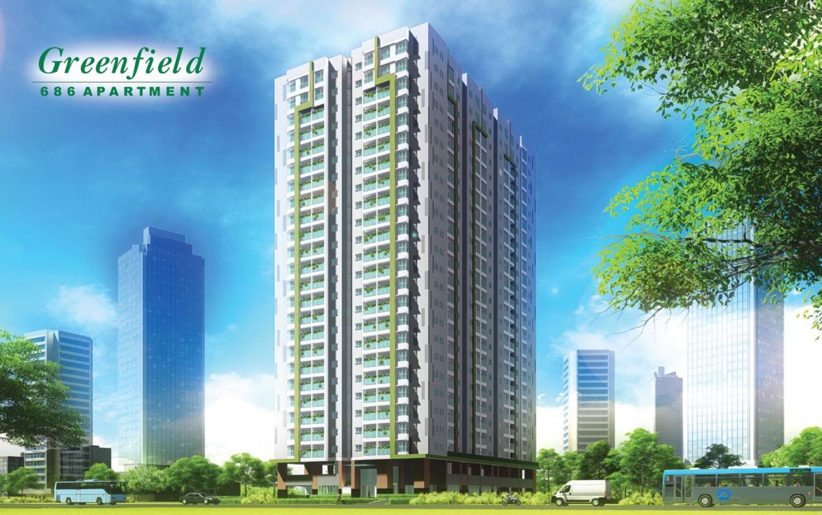 Bảng giá cho thuê căn hộ chung cư GreenField 686