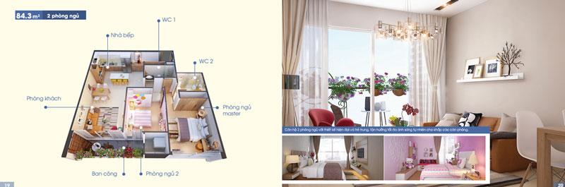 Cho thuê căn hộ chung cư Elite Park