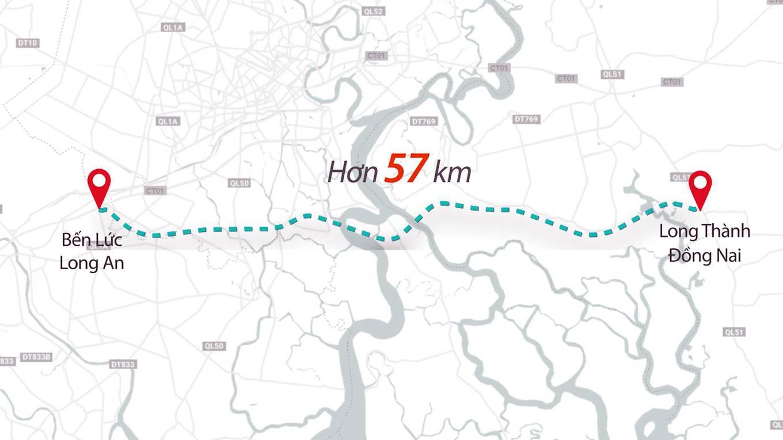 Tiến độ mới nhất đường cao tốc Bến Lức – Long Thành