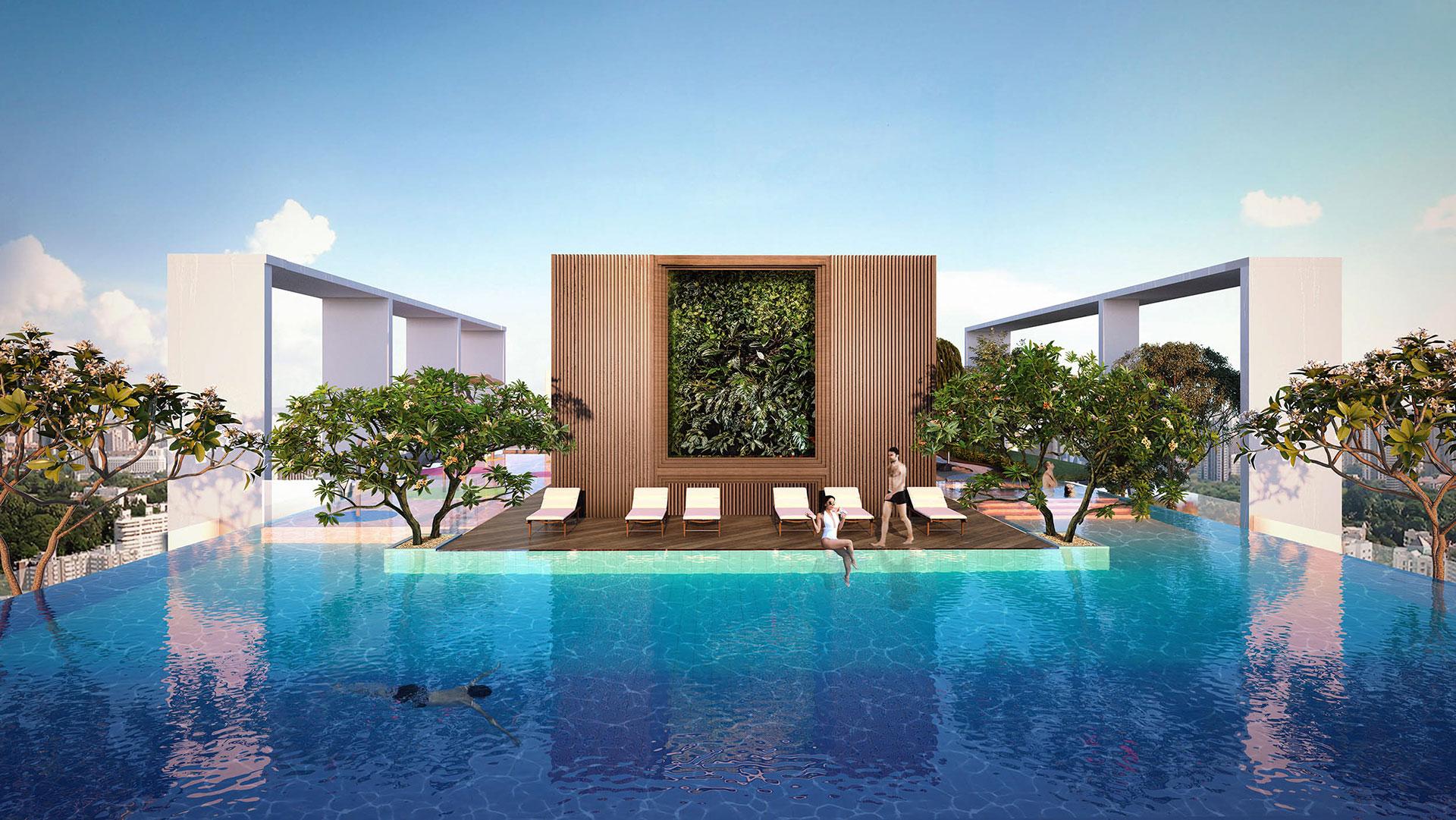 Giá Cho thuê căn hộ chung cư Ascent Plaza bao nhiêu ? 5
