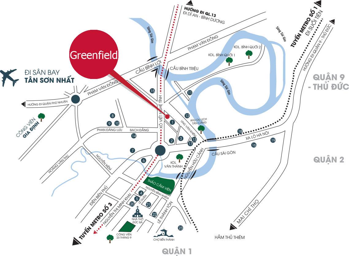 Bảng giá cho thuê căn hộ chung cư GreenField 686 3