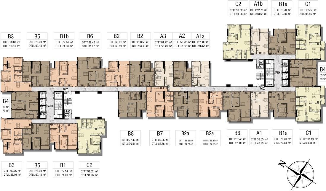 Cho thuê căn hộ chung cư Viva Riverside giá tốt