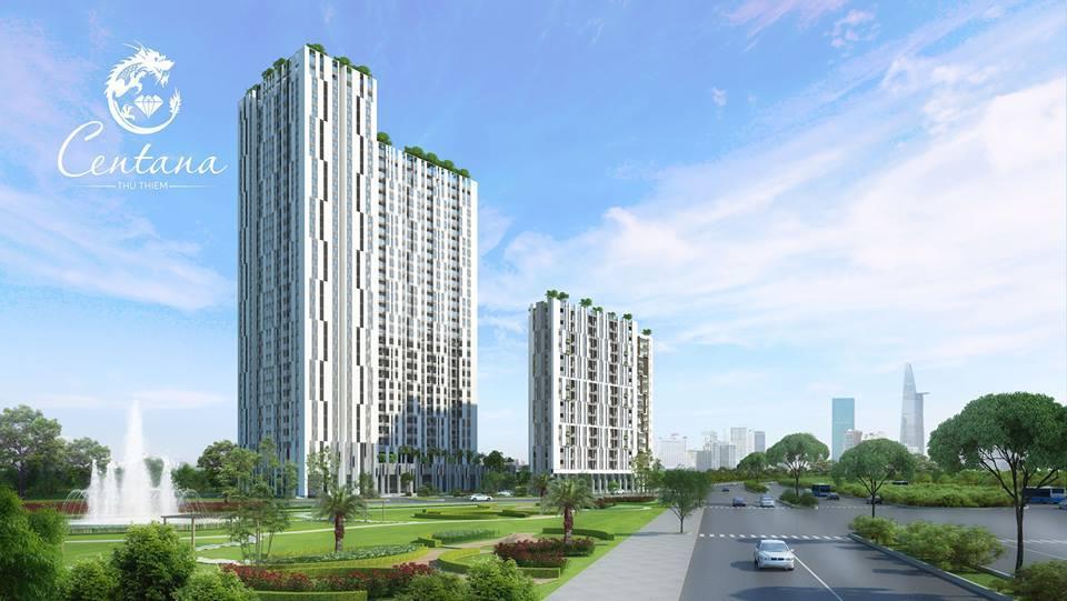 Cho thuê căn hộ Centana Thủ Thiêm tiện ích ngoại khu nhất khu vực