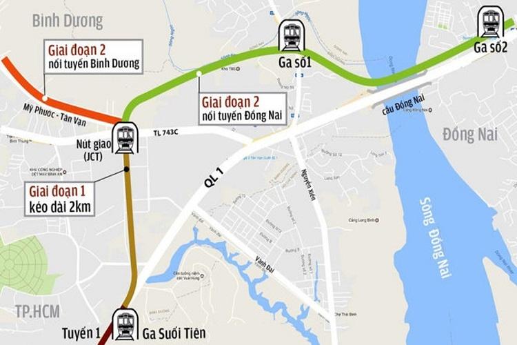 Chính thức kéo dài tuyến metro số 1 đến Đồng Nai và Bình Dương 14