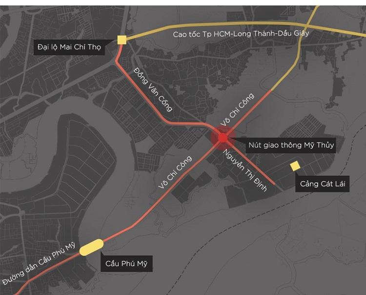 """Dự án hầm chui Mỹ Thủy, mở """"nút thắt"""" vào cảng Cát Lái – Chính thức thông xe"""