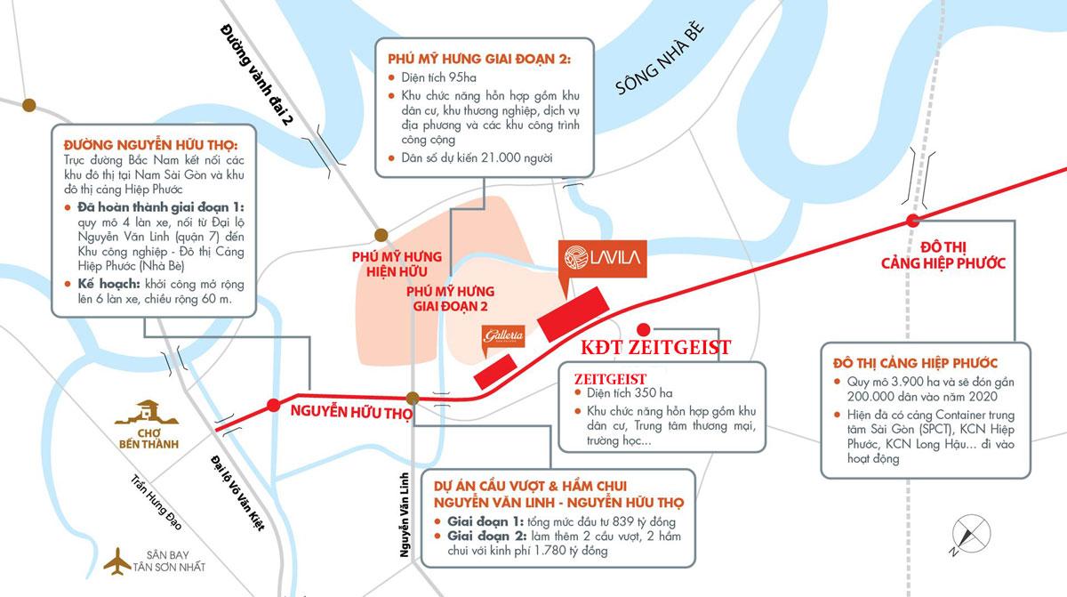 dự án nhà phố, shophouse biệt thự ZeitGeist Nhà Bè Nam Sài Gòn