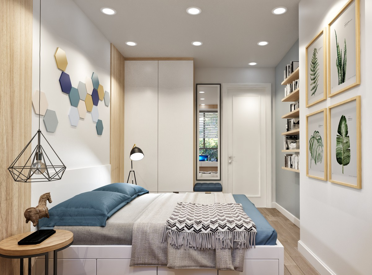 Cho thuê căn hộ chung cư 2 phòng ngủ tại Bình Thạnh