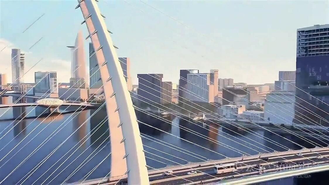 Tiến độ thi công xây dựng Cầu Thủ Thiêm 2 đi đến Quận 1 với Quận 2 mới nhất