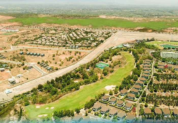 Khu dự án Diamond Bay Phan Thiết Bình Thuận kiến trúc châu Âu tầm nhìn rộng