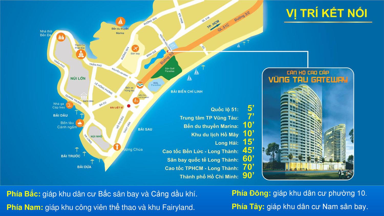 Cho thuê căn hộ chung cư Gateway Vũng Tàu