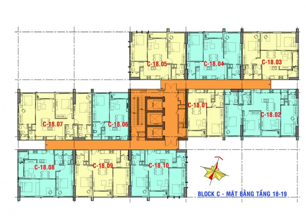 Cho thuê căn hộ chung cư Xi Grand Court
