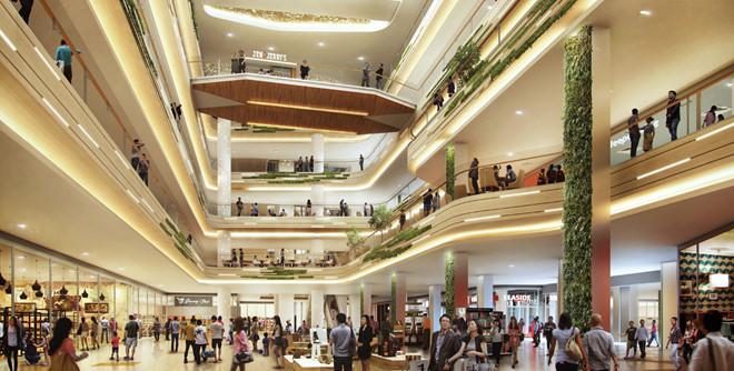trung tâm thương mại Estella Place