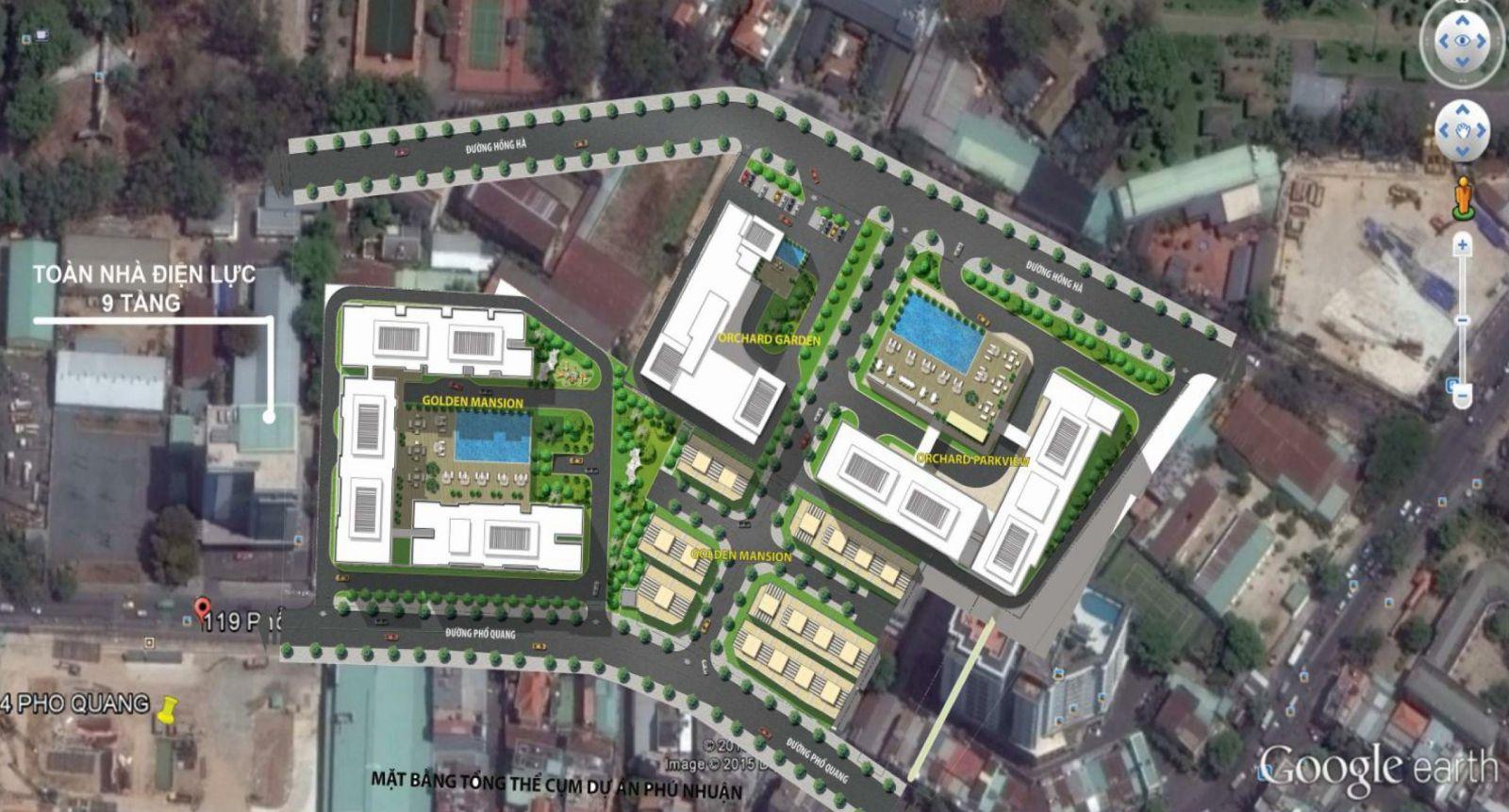 Cho thuê căn hộ chung cư Orchard Garden