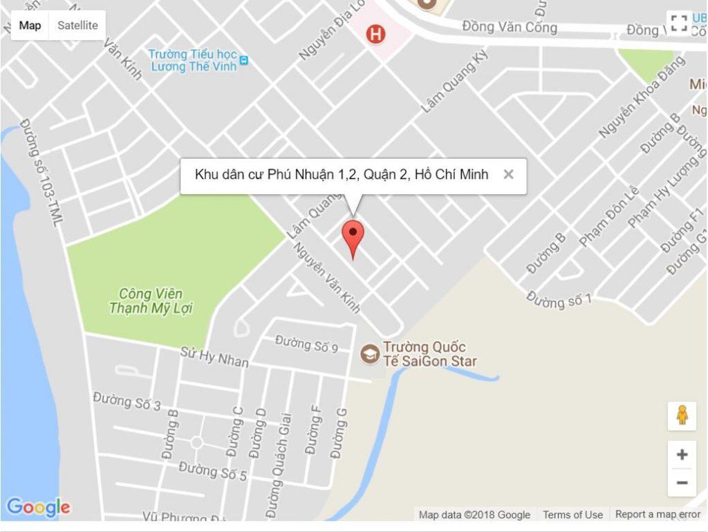 Khu dân cư Phú Nhuận Quận 2