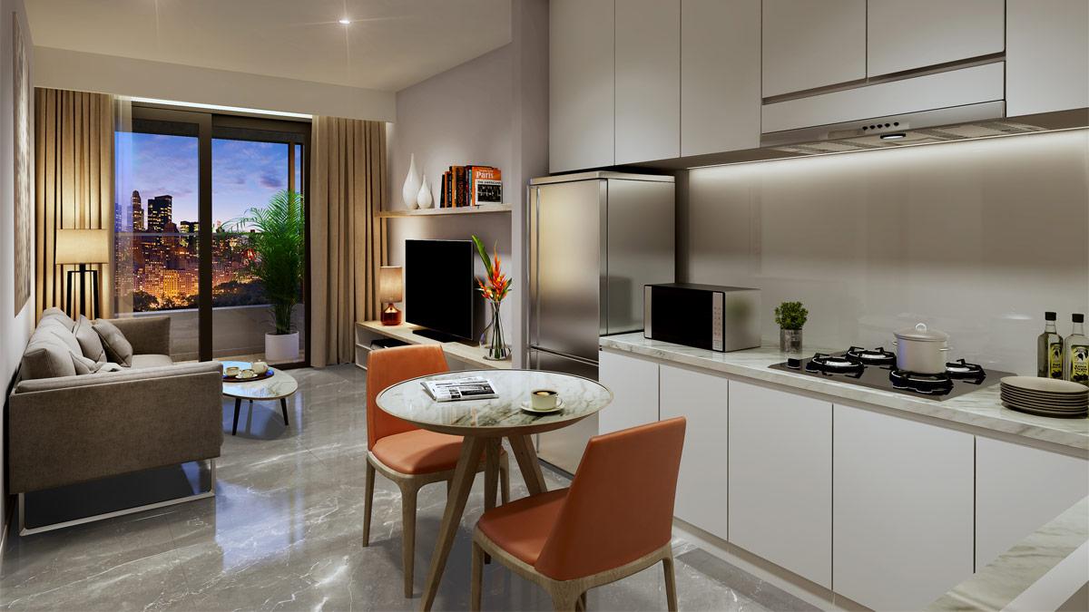 Cho thuê căn hộ chung cư Kingdom 101 11