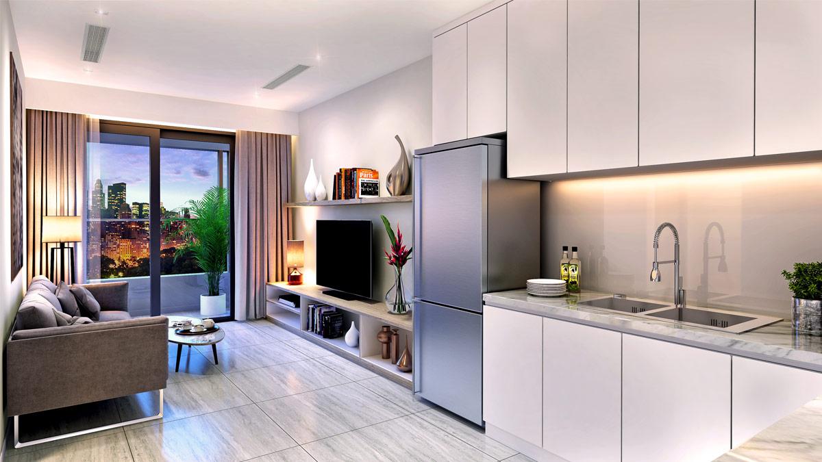 Cho thuê căn hộ chung cư Kingdom 101 10