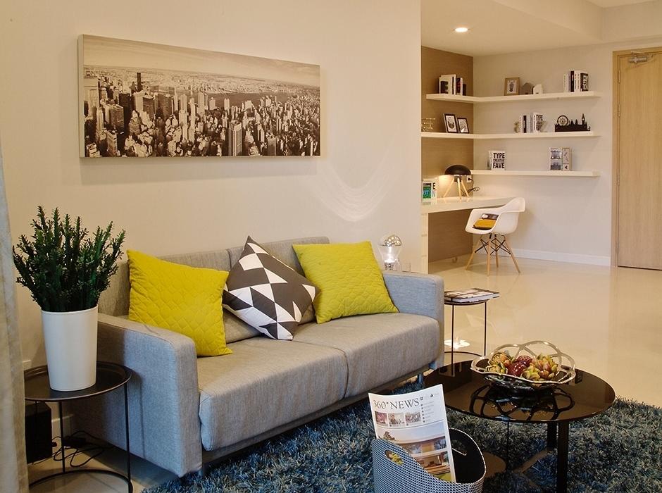 Cho thuê căn hộ chung cư Golden Hill Cống Quỳnh quận 1
