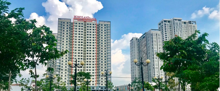Cho thuê căn hộ chung cư Homyland Riverside