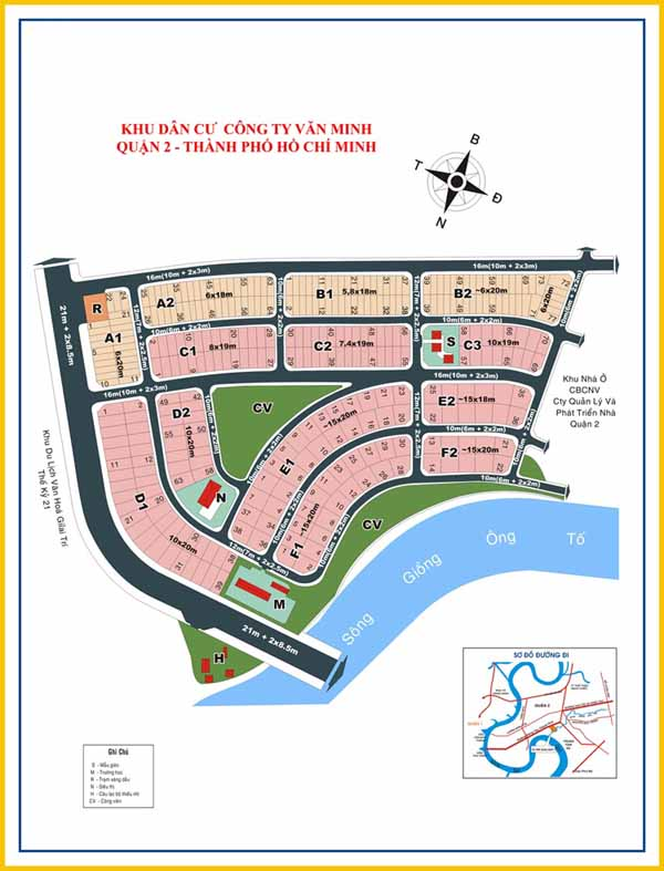 Khu dân cư Phú Nhuận Quận 2 13