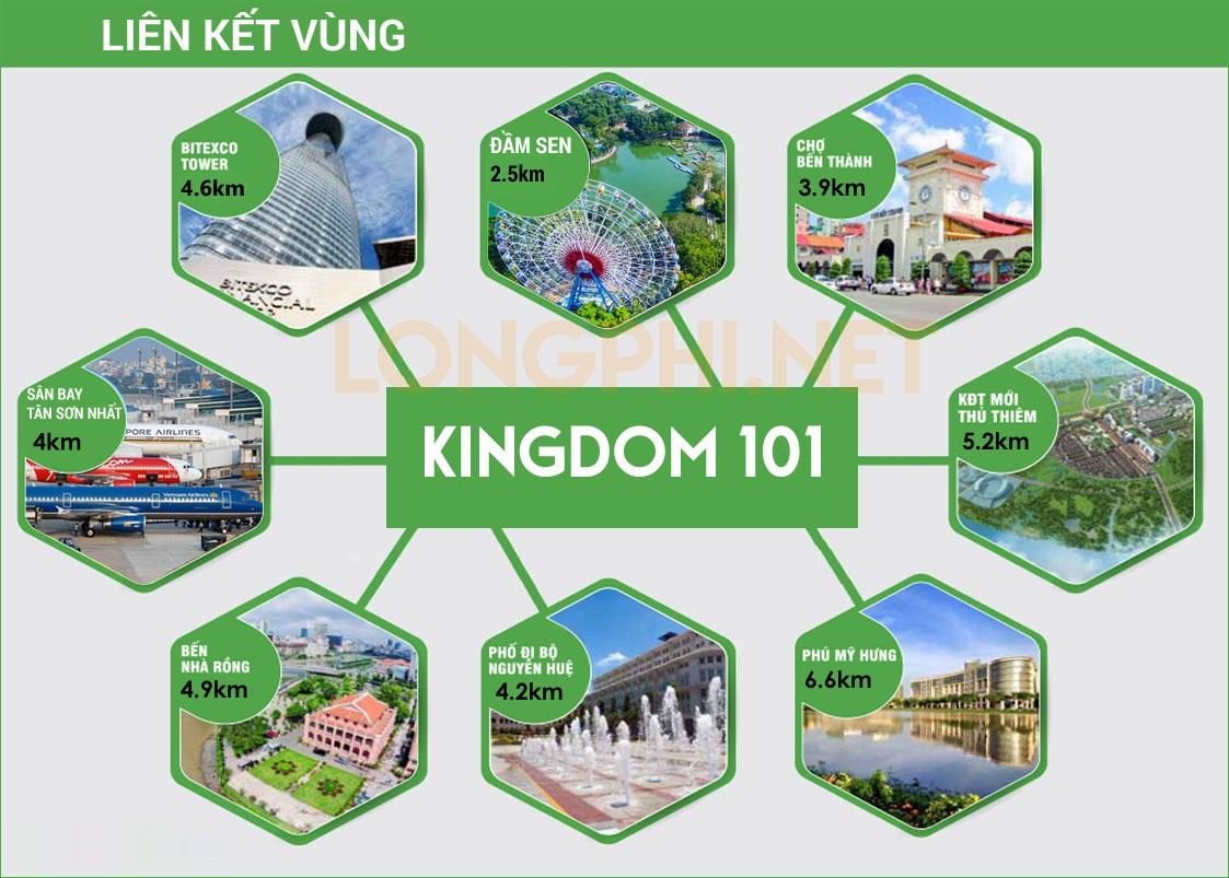 Cho thuê căn hộ chung cư Kingdom 101 4