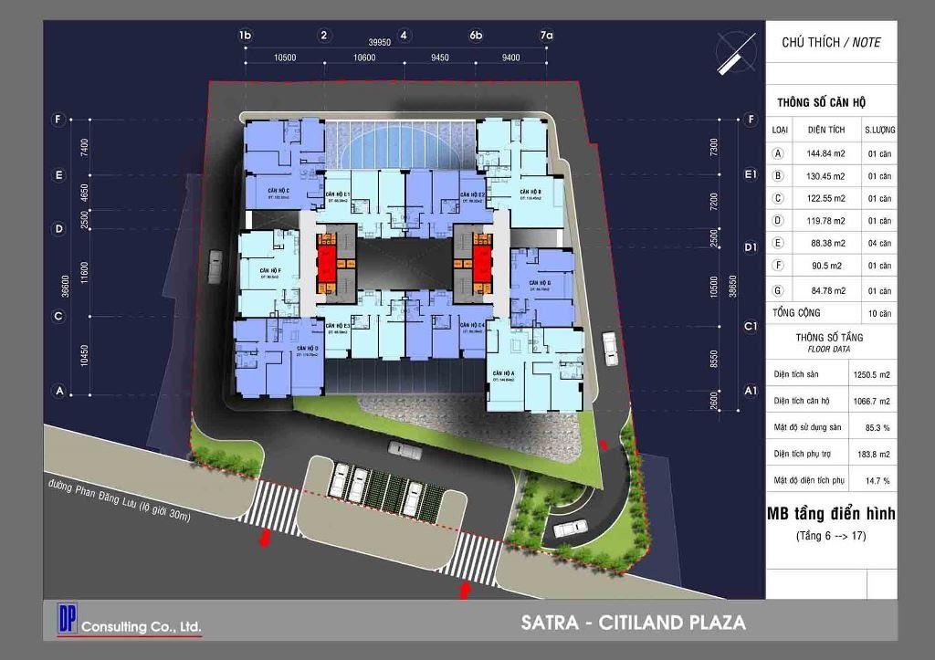 Cho thuê căn hộ chung cư Satra Eximland Plaza