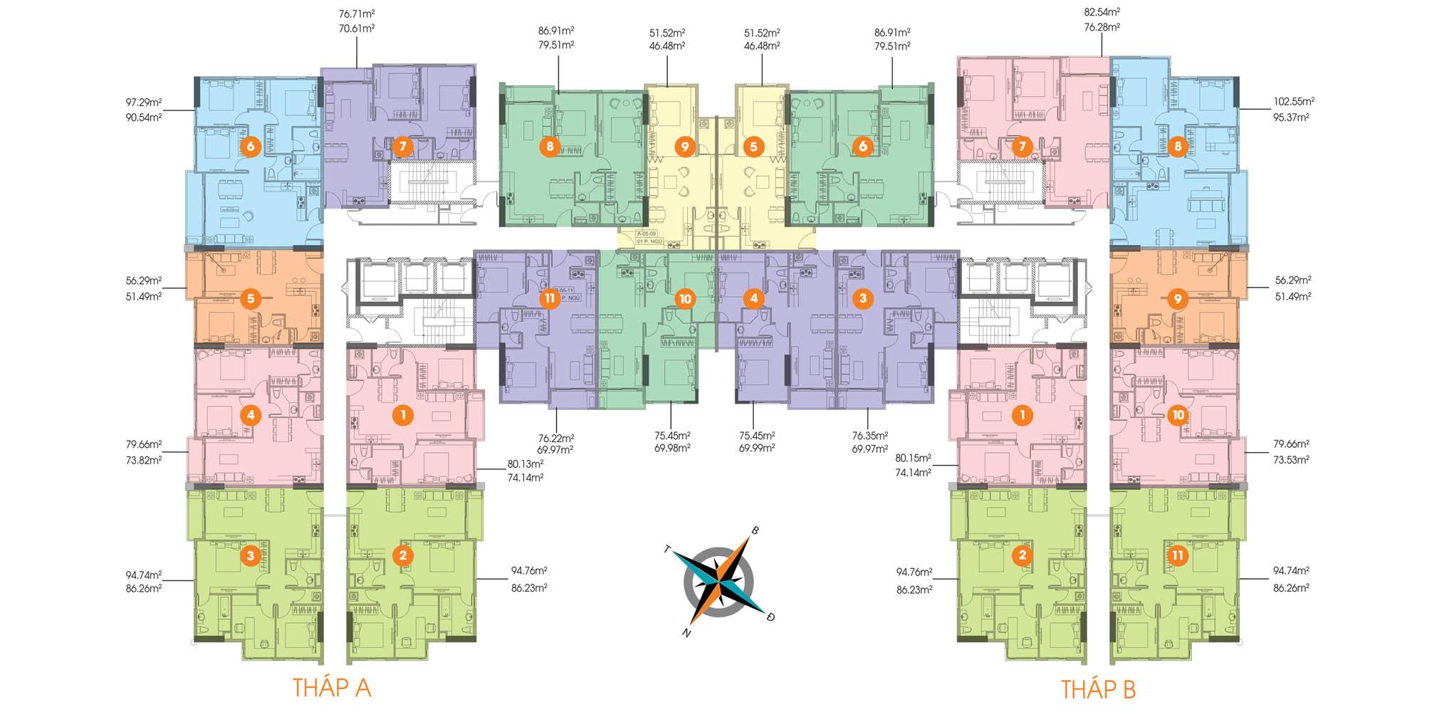 Cho thuê căn hộ chung cư De Capella