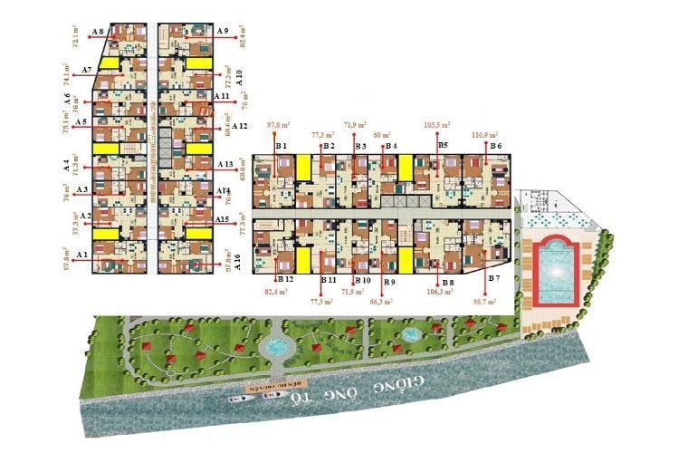 Cho thuê căn hộ chung cư Homyland 2 13