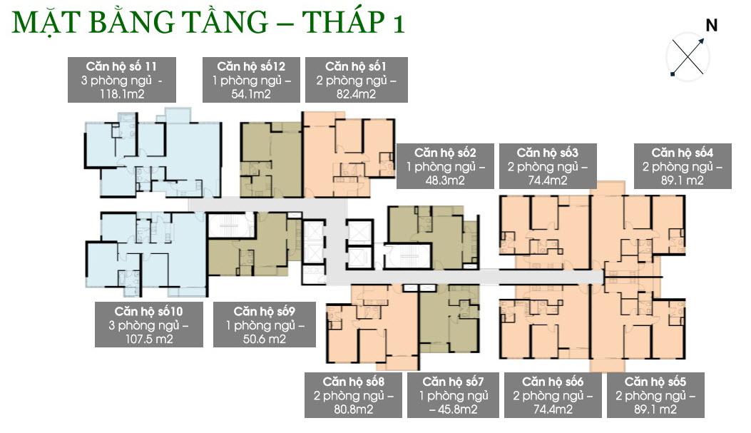 Cho thuê căn hộ chung cư Vista Verde 7