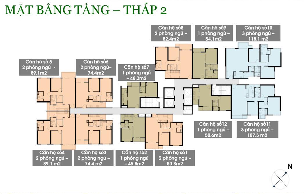 Cho thuê căn hộ chung cư Vista Verde 8