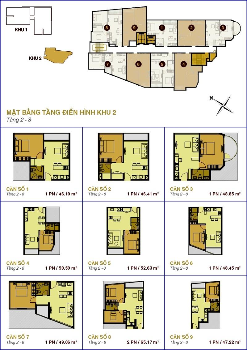 Cho thuê căn hộ chung cư The Prince Residence