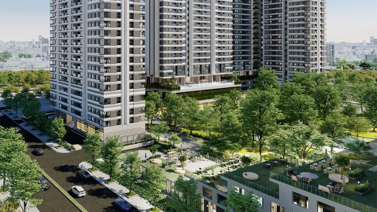 Cho thuê căn hộ chung cư Kingdom 101 5