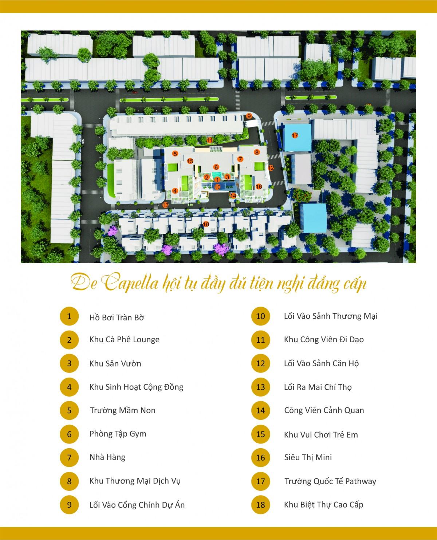 Căn hộ chung cư cao cấp cho thuê De Capella sản phẩm tốt nhất khu đất vàng