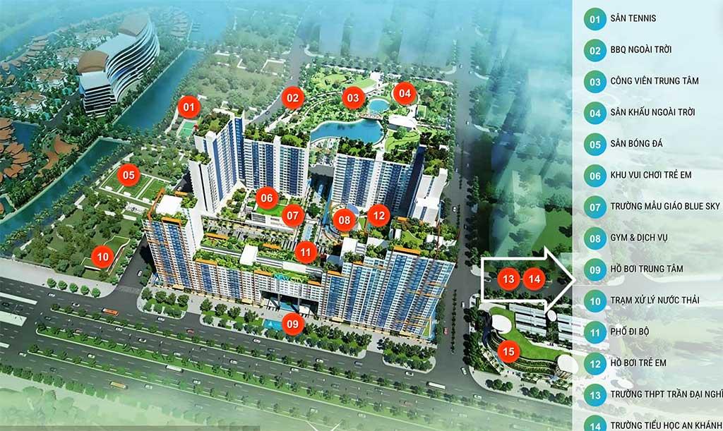 Cho thuê căn hộ chung cư New City Thủ Thiêm