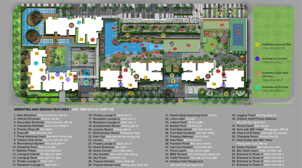 Cho thuê căn hộ chung cư Vista Verde 4