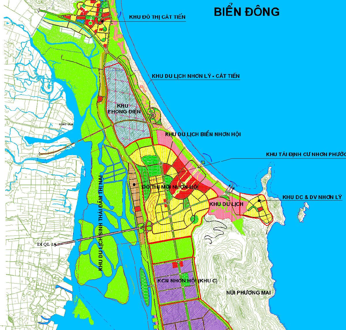 Khu đô thị sinh thái Nhơn Hội Bình Định