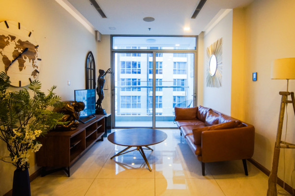Cho thuê căn hộ Vinhomes Central Park View Sông Tòa Park 6 Lầu Cao