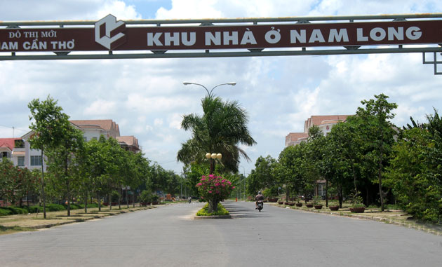 Dự án khu dân cư Nam Long