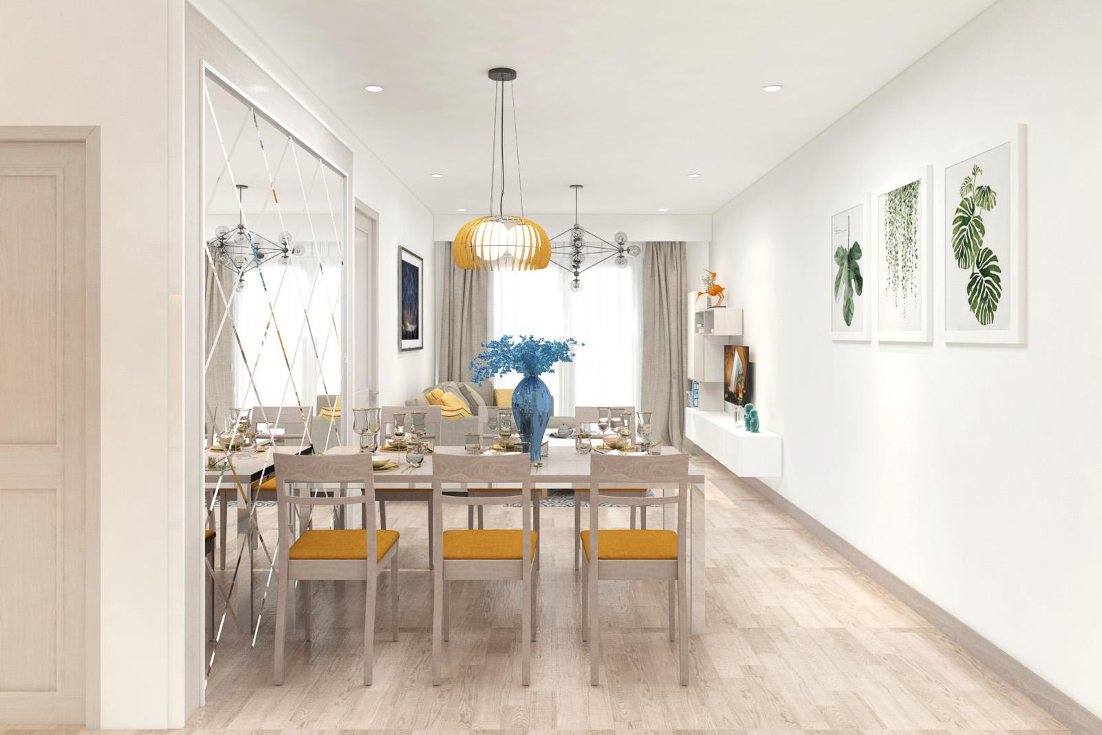 Căn hộ chung cư cao cấp cho thuê Vạn Đô phức hợp đa năng chất lượng cao