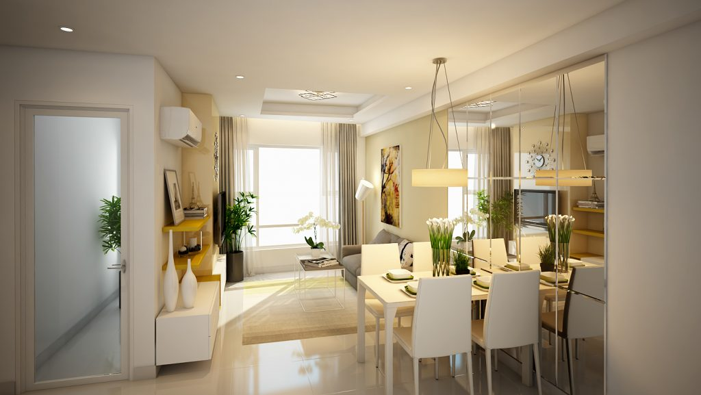 Cho thuê căn hộ chung cư Summer Square