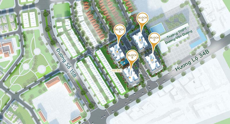 dư án căn hộ Orchid Park Phú Xuân Nhà Bè