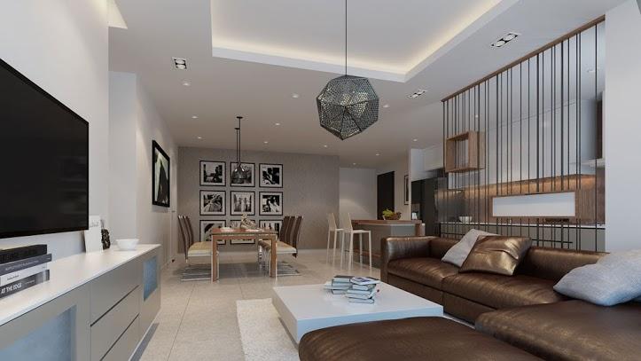 Cho thuê căn hộ chung cư The Gold View