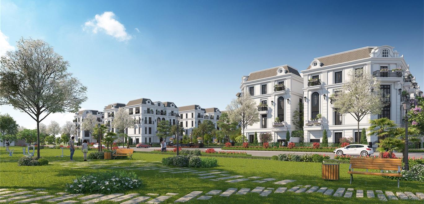 Elegant Park Villa