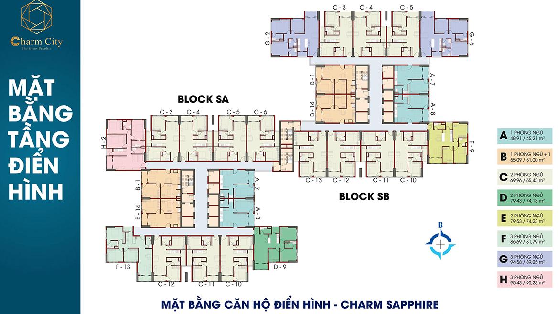dự án căn hộ Charm City dĩ an bình dương