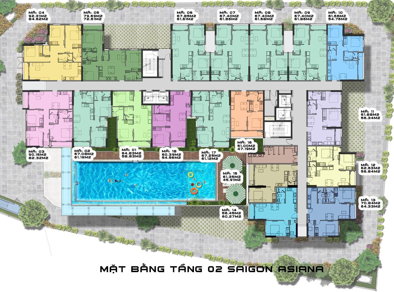 Dự án căn hộ chung cư Saigon Asiana – nơi an cư của gia đình tri thức