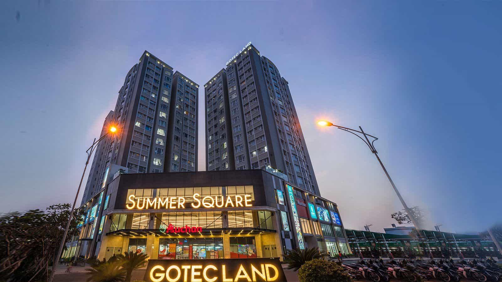Bảng báo giá cho thuê căn hộ chung cư Summer Square