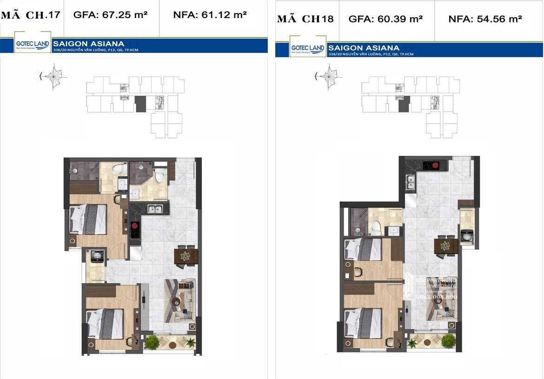 Dự án chung cư cao cấp Saigon Asiana không gian xanh kiểu pháp
