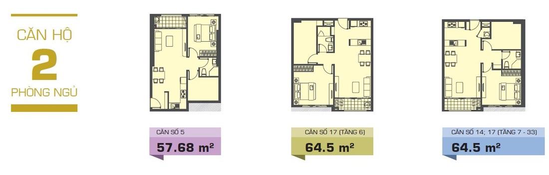 Cho thuê căn hộ chung cư The Tresor