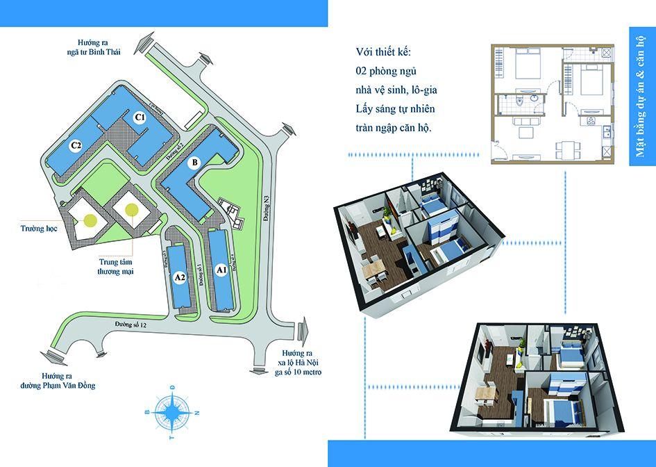 Cho thuê căn hộ chung cư Chương Dương Home