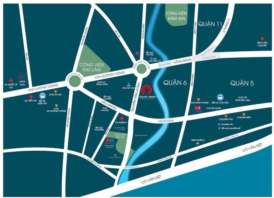 Khu Saigon Asiana quận 6 mở trang sử mới cho BĐS cao cấp